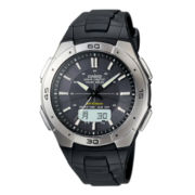 Casio® Wave Ceptor Tough Solar Mens Atomic Timekeeping Sport Watch