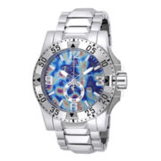 Invicta® Excursion Mens Stainless Steel Chronograph Watch