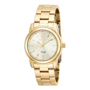 jcpenney.com | Invicta® Angel Womens Gold-Tone Stainless Steel Watch 17420