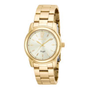Invicta® Angel Womens Gold-Tone Stainless Steel Watch