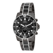 Invicta® Pro Diver Mens Gunmetal Stainless Steel Chronograph Sport Watch