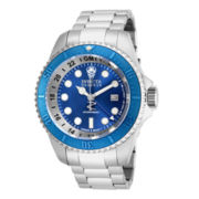 Invicta® Hydromax Mens Stainless Steel Chronograph Sport Watch