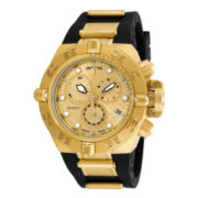 Invicta® Subaqua Noma IV Mens Gold-Tone Stainless Steel Chronograph Sport Watch