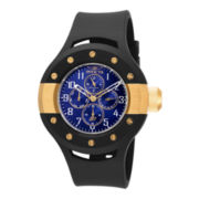 Invicta® S1 Rally Mens Blue Dial Black Silicone Strap Sport Watch