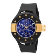 Invicta® S1 Rally Mens Blue Dial Black Silicone Strap Sport Watch 17392