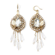 Gemma Simone™ Neutral Statement Drop Earrings