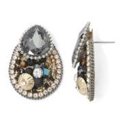 Gemma Simone™ Hematite Beaded Statement Earrings