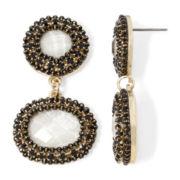 Gemma Simone™ Gold-Tone Double-Drop Earrings