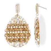 Gemma Simone™ Crystal Teardrop Earrings