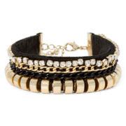 Gemma Simone™ Gold-Tone Crystal Bracelet