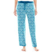 Rene Rofe® Drawstring Knit Sleep Pants