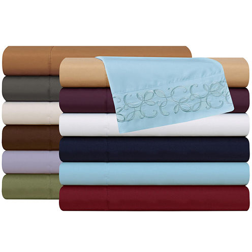 Luxury Collection Scroll Microfiber Sheet Set