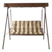 Outdoor Oasis Destin 2-Seater Canopy Swing