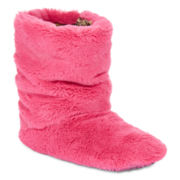 Mixit™ Plush Faux-Fur Boot Slippers