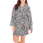 Mixit™ Plush Microfleece Robe - Plus