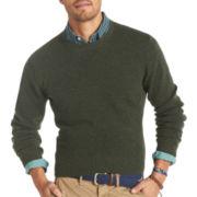 IZOD® Solid Shetland Crewneck Sweater