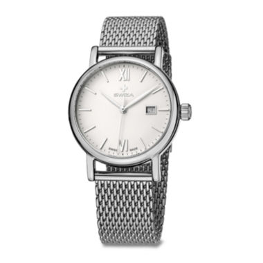 jcpenney.com | Swiza Alza Womens Stainless Steel Bracelet Watch