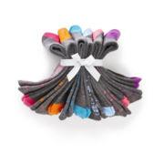 Womens 6-pk. Fair Isle Knit Crew Socks