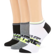 Nike® Womens 3-pk. Lightweight Logo No-Show Socks