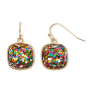 Liz Claiborne® Multicolor Drop Earrings