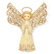 Monet® White Angel Pin