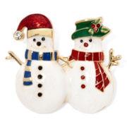 Monet® Snowman Pin