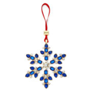 Monet® Blue Crystal Snowflake Ornament