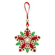 Monet® Poinsettia Ornament