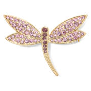 Monet® Crystal Dragonfly Pin