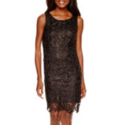 Worthington® Sleeveless Lace Sheath Dress