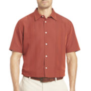 Van Heusen® Short-Sleeve Button-Front Shirt