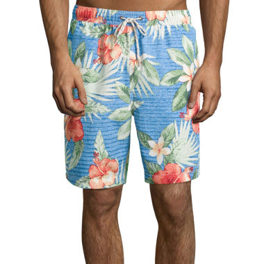 jcpenney.com | Jamaica Bay® Printed Micro Volley Swim Trunks