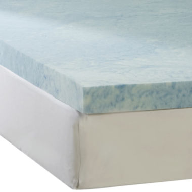 "jcpenney.com | Comforpedic from Beautyrest® 3"" Gel Memory Foam Topper"