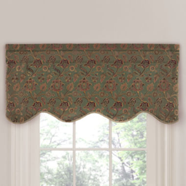 jcpenney.com | Saybrook Tailored Rod-Pocket Valance