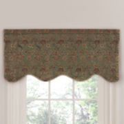 Saybrook Tailored Rod-Pocket Valance