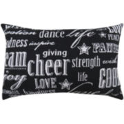 Park B. Smith® Multi-Word Decorative Pillow