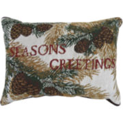 Park B. Smith® Season Greetings Decorative Pillow