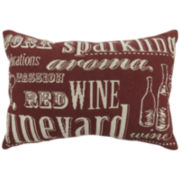 Park B. Smith® Sparkling Wine Decorative Pillow