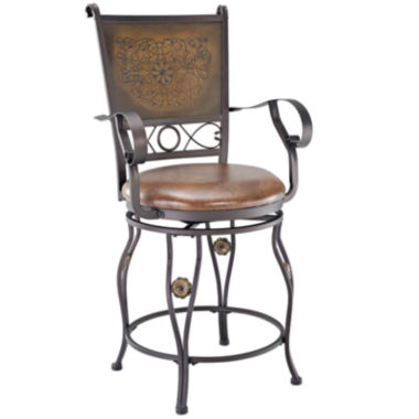 jcpenney.com | Big & Tall Merrimac Swivel Barstool