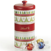 Lindt Lindor Assorted Truffles Festive Trees Gift Tin
