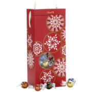 Lindt Lindor Assorted Truffles Snowflake Gift Box