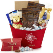 Lindt Lindt Seasonal Delights Holiday Gift Basket