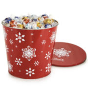 Lindt Lindt Assorted Truffles Jumbo Snowflake Tin