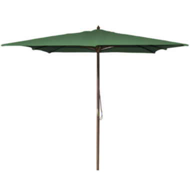 jcpenney.com | Aruba 8.5' Square Wood Umbrella