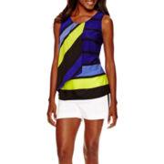 Worthington® Tiered Blouse or Scuba Shorts