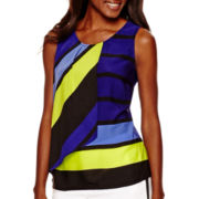 Worthington® Sleeveless Tiered Blouse - Tall