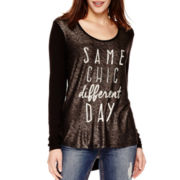 "i jeans by Buffalo Long-Sleeve ""Same Chic"" Top"