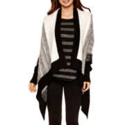 i jeans by Buffalo Long-Sleeve Colorblock Flyaway Cardigan