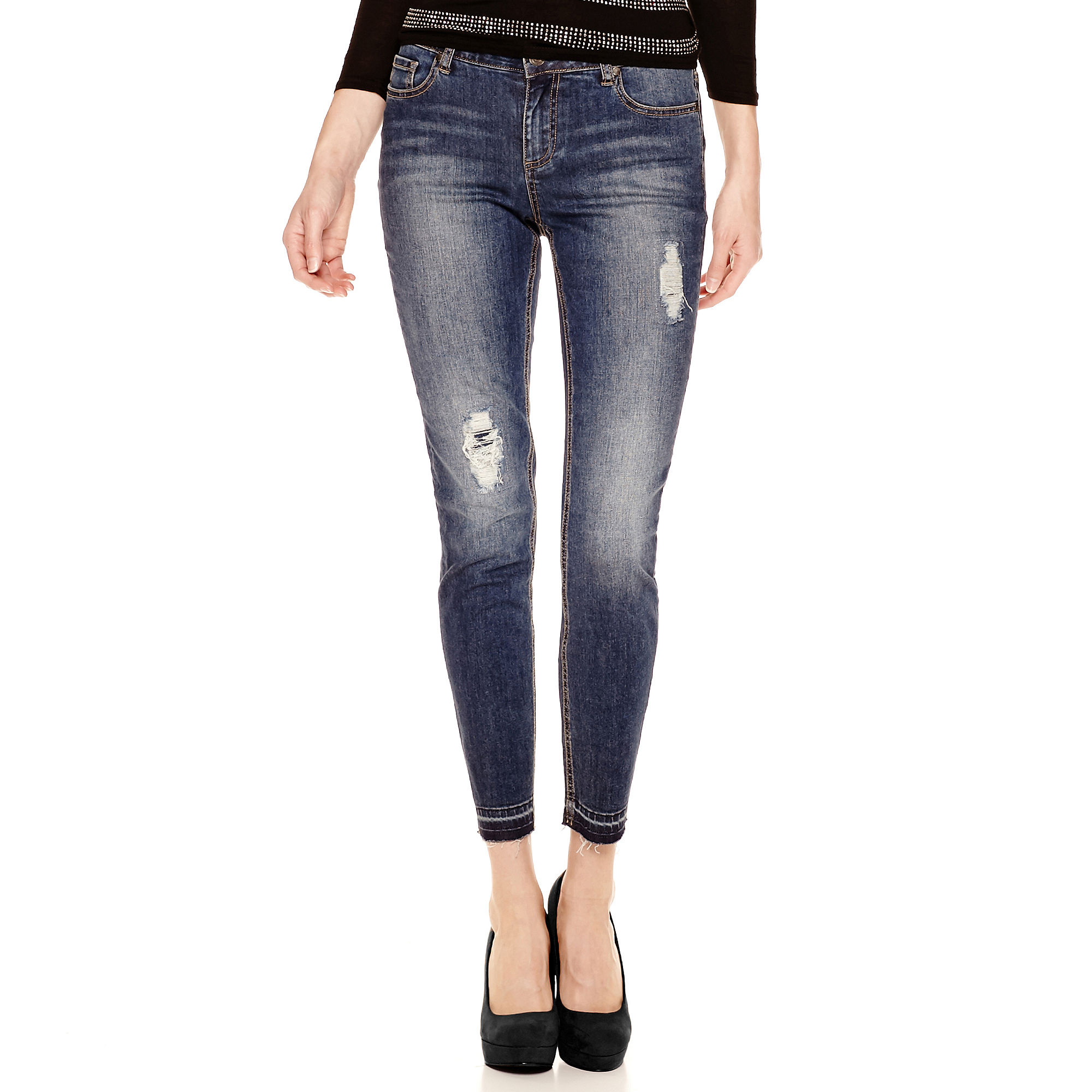 i jeans by Buffalo Distressed Jeans