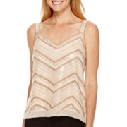 Liz Claiborne® Beaded Tank Top